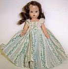1952 NANCY ANN 5.5 In Sleepy Eye STORYBOOK DOLL,Blue