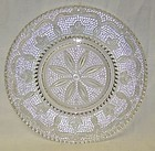 Federal Crystal HERITAGE 9 1/4 Inch DINNER PLATE
