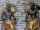 Wooden statues of the Nio guardians Agyo & Ungyo, Japan