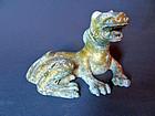 Bronze statue of a mythological lion - China