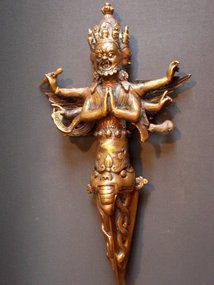 Bronze Tibetan Phurba