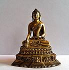 Tibetan bronze Buddha