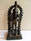 Indian bronze statue of Bhairava