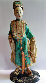 Antique Chinese opera doll