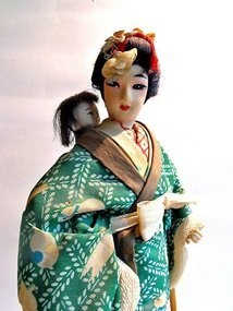Japanese doll - Mother and child