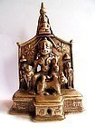 Indian bronze Jain altar piece or shrine