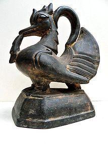 Bronze Burmese 16. 5 kg. opium weight