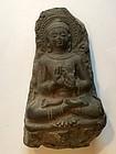 Stone carving figure of Gautama Buddha