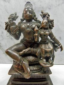 Bronze Vishnu statue, India