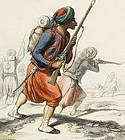"""""""Histoire de l'Algerie"""" par Leon Galibert, 1843."""
