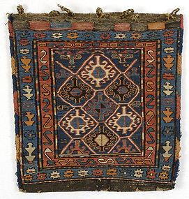 Antique Shahsavan Sumakh Bag, Persia.