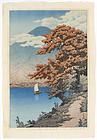 Kawase Hasui Limited Woodblock Print - Lake Chuzenji.