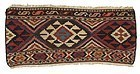 Persian Shasavan Kilim Mafrash Panel, c. 1900.