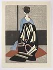 "Kiyoshi Saito - ""Maiko Kyoto"", Limited Japanese Print."
