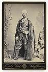 Cabinet Photograph of Henri Moser Charlottenfels, Orient Explorer.