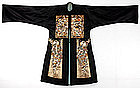 Chinese Lady's Robe with Rank Badges, Late Qing.
