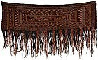 Antique Turkmen Tekke Mafrash Bag Face, c. 1900.
