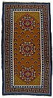 Antique Classical Tibetan Khaden Rug, 1900/1920.