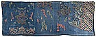 Fragment of a Woven Mang Pao Court Dress, late Qing.