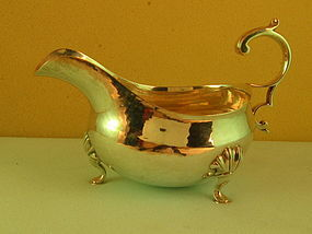 Gravy boat by Leinonen&Son, Boston, 1st half 20th C.