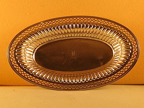 Bread tray by Dominick&Haff, NY, circa 1913