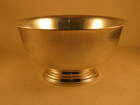 Bowl, Revere-style, by Int'l Silver, 20th Century