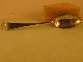 Tablespoon by Wm. Hollingshead, Phila., circa 1790