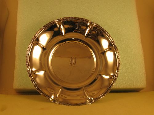 Serving plate by Dominick&Haff, NYC, circa 1920's