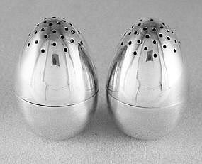 Salt and pepper shakers by Dominick & Haff, New York