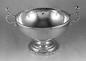 Two-handled bowl by James Woolley