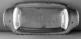 Bread tray by James Woolley, Boston