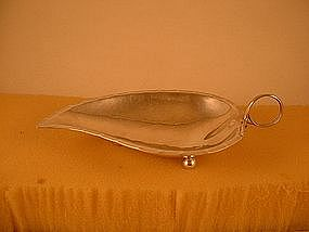 Leaf dish by DeMatteo