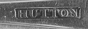 Teaspoon by Isaac Hutton; Albany, NY; circa 1790