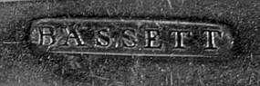 Four teaspoons by Nehemiah Bassett; Albany, NY; c.1805