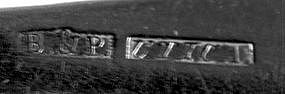 Tablespoon by Barton & Porter; Utica, NY; circa 1815