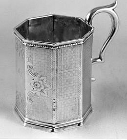 Child's cup by Tucker;San Francisco,CA; ca. 3rd Q.19C.