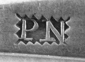4 Teaspoons by PN, circa 1810
