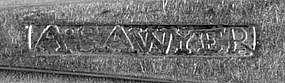 Teaspoon by A. Sawyer, circa  1800-1810