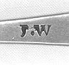 Teaspoon by JW; circa 1805