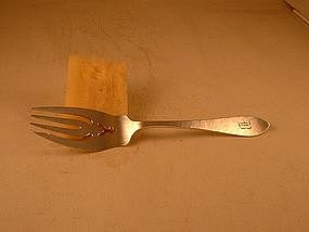 Serving fork by Randahl, Chicago