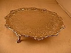 Salver by Ebenezer Coker, London, 1764