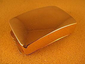 Gold snuff box marked Ball,Tompkins&Black NY c.1840's