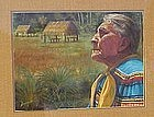 Greg Biolchini, Pastel, Florida Indian