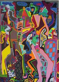 Richard DeQuattro, Painting, Sanibel Beach