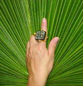 Hittite Seal and 22k Gold Ring