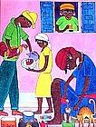 Haitian Artist, S.E. Bottex