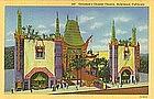 Grauman'sChinese Theatre, Postcard 1931