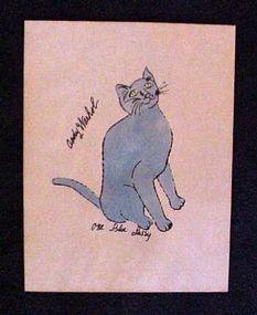 Andy Warhol, 25 Cats named Sam