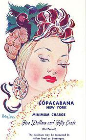 """""""Copacabana"""" Non-Linen Postcard"""