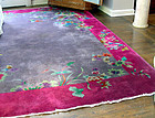 Vintage Chinese Deco Nichols Style Rug